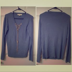 Michael Kors Blue Sweater